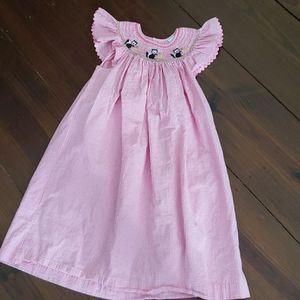 Remember Nguyen Sz 6 Smocked Dress